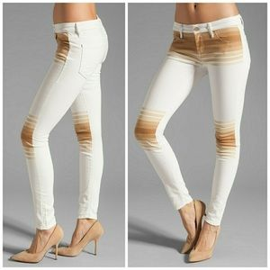 MOTHER Jeans - MOTHER LOOKER 70's INSPIRED  stripe jeans